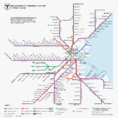 train in boston map Commuter Rail Schedules Maps Mbta train in boston map
