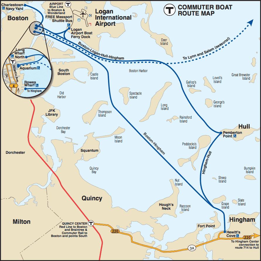 Elegant Ferry Map