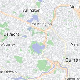 B Line Subway Map.Green Line B Subway Mbta