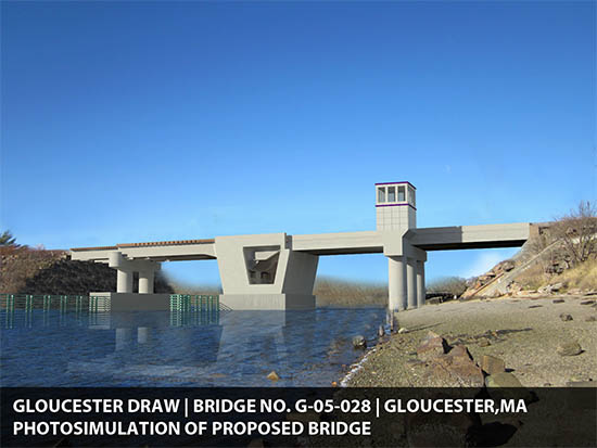 Proposed design of new Gloucester drawbridge