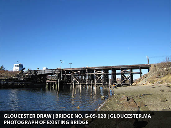 Existing Gloucester drawbridge