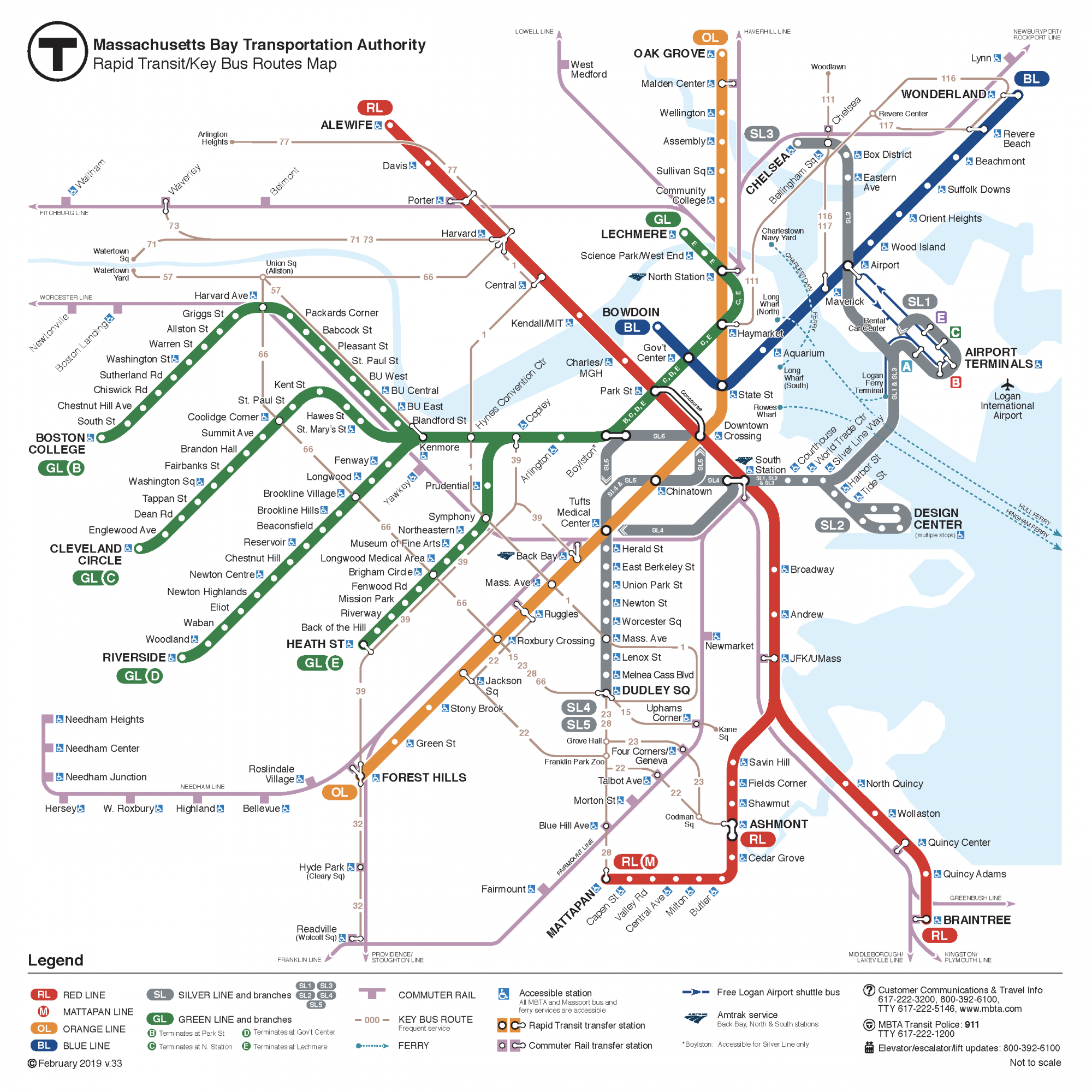 Subway Schedules Amp Maps Mbta