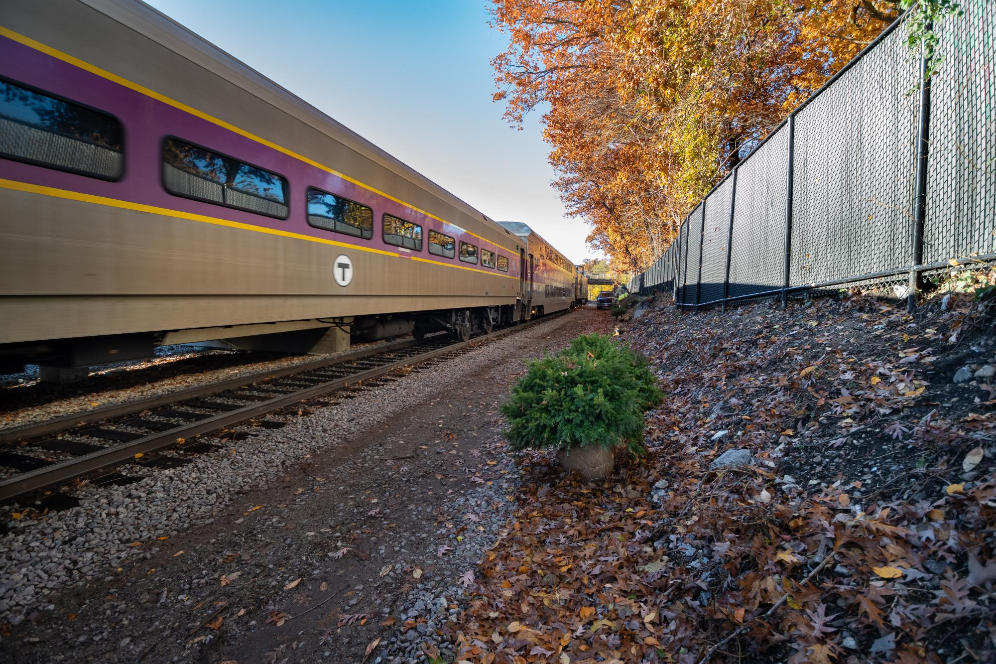 Commuter Rail train (November 2018)