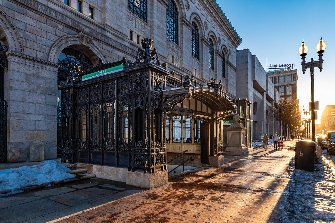 Historic preservation of the Copley Station headhouse