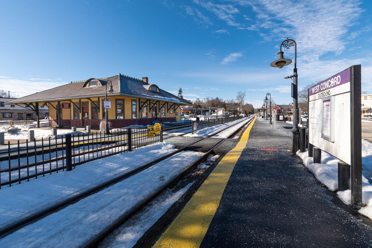 Historic preservation at West Concord Station