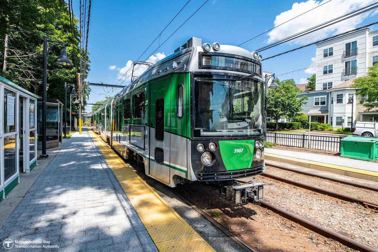 Green Line vehicle