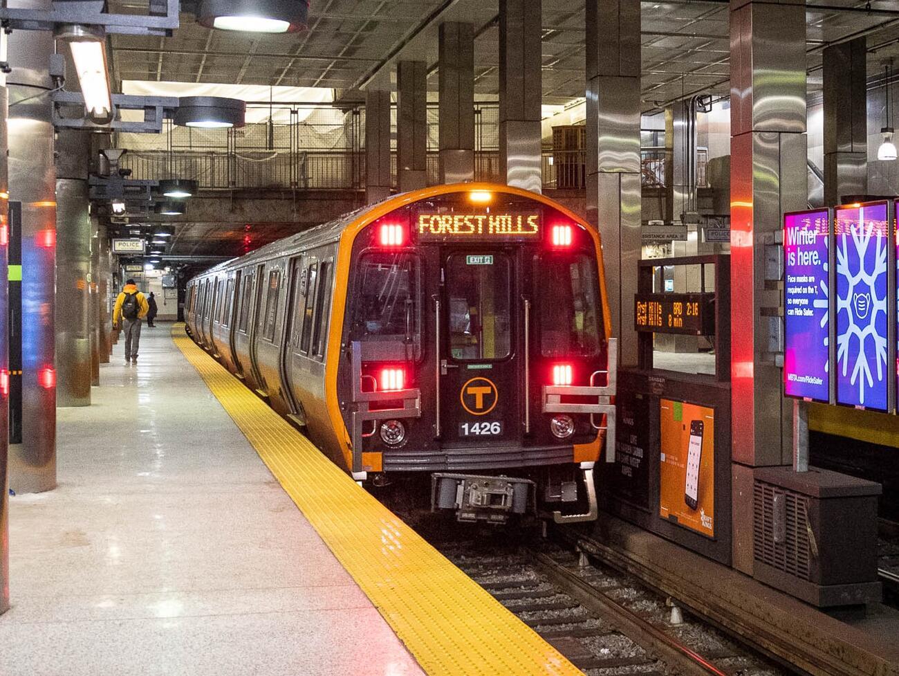 Orange Line train