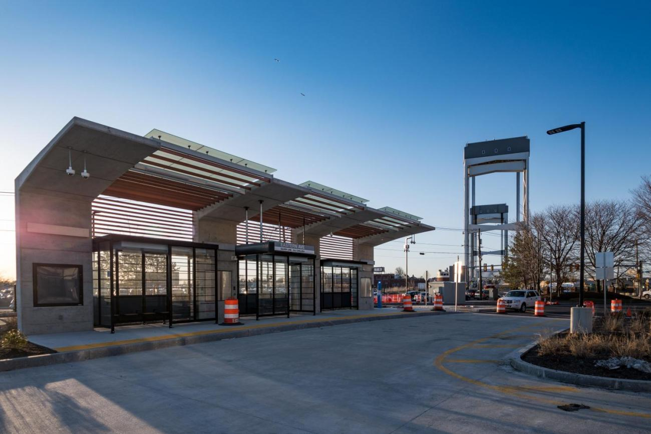 The new Eastern Ave Station