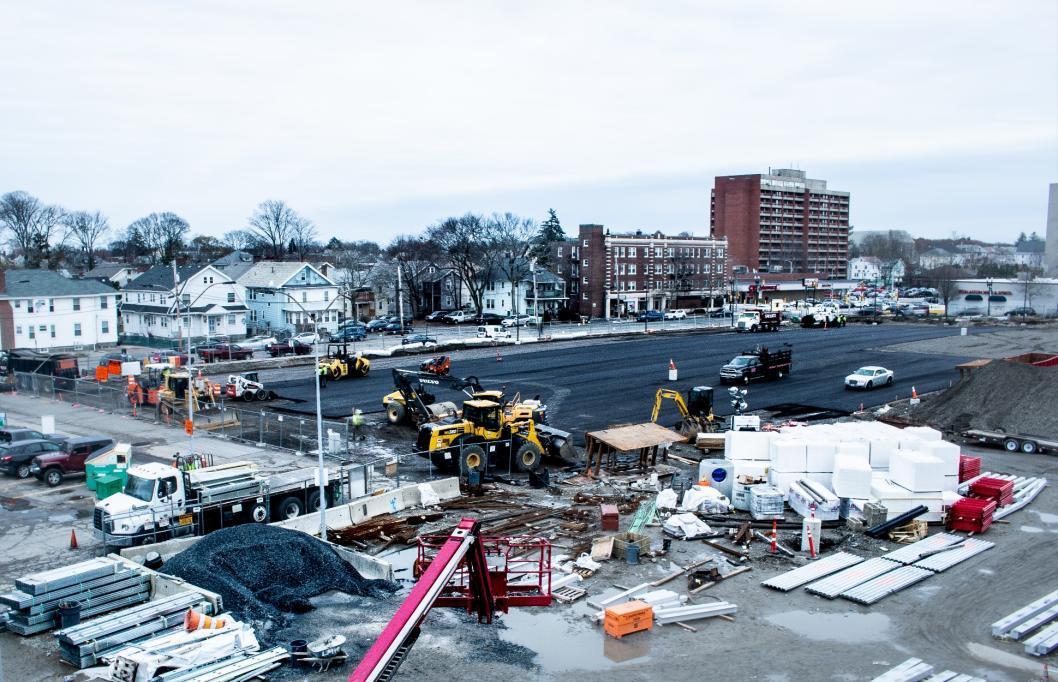 Parking lot, phase 1: Binder (November 21, 2018)