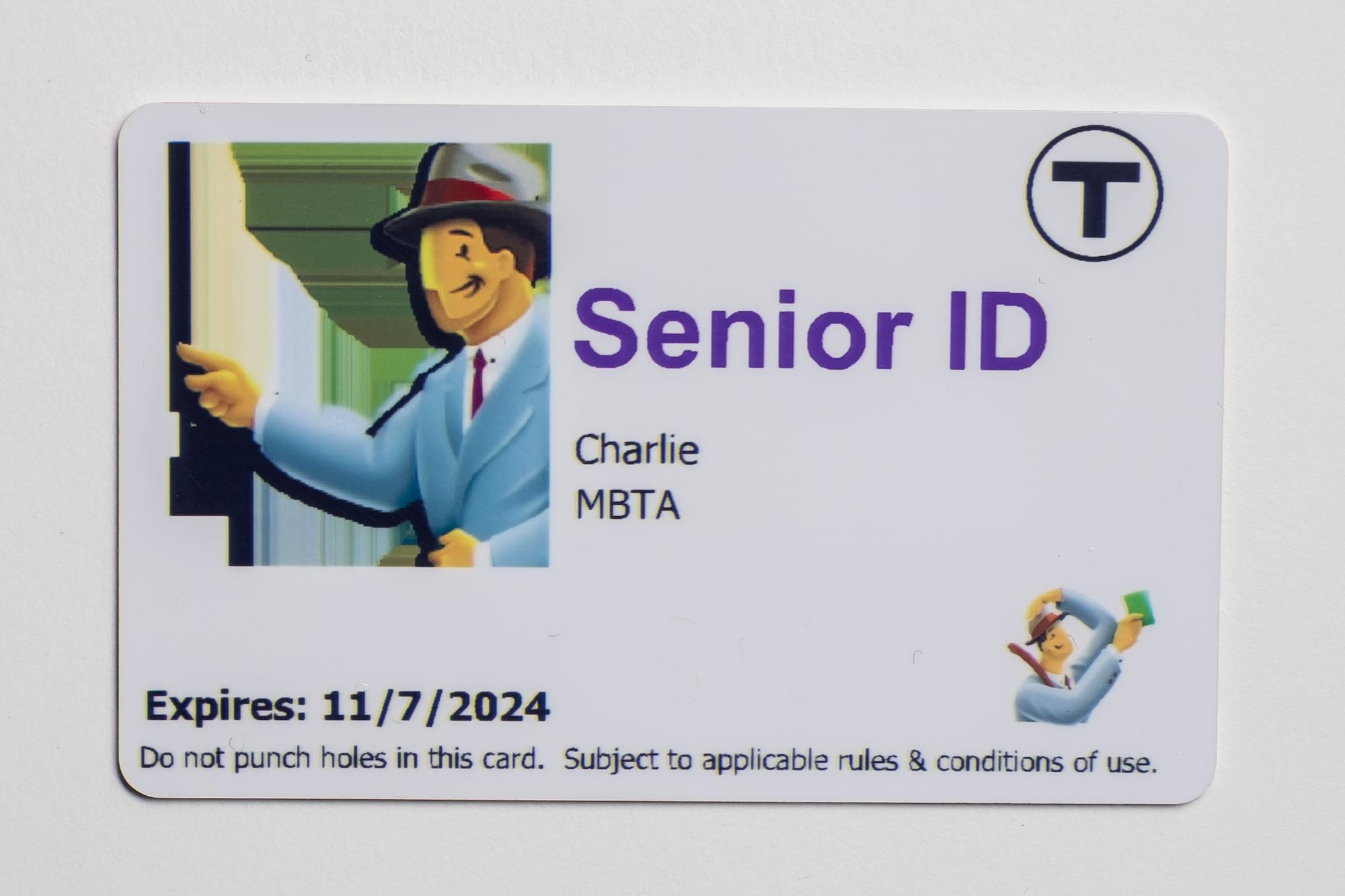 Senior CharlieCard
