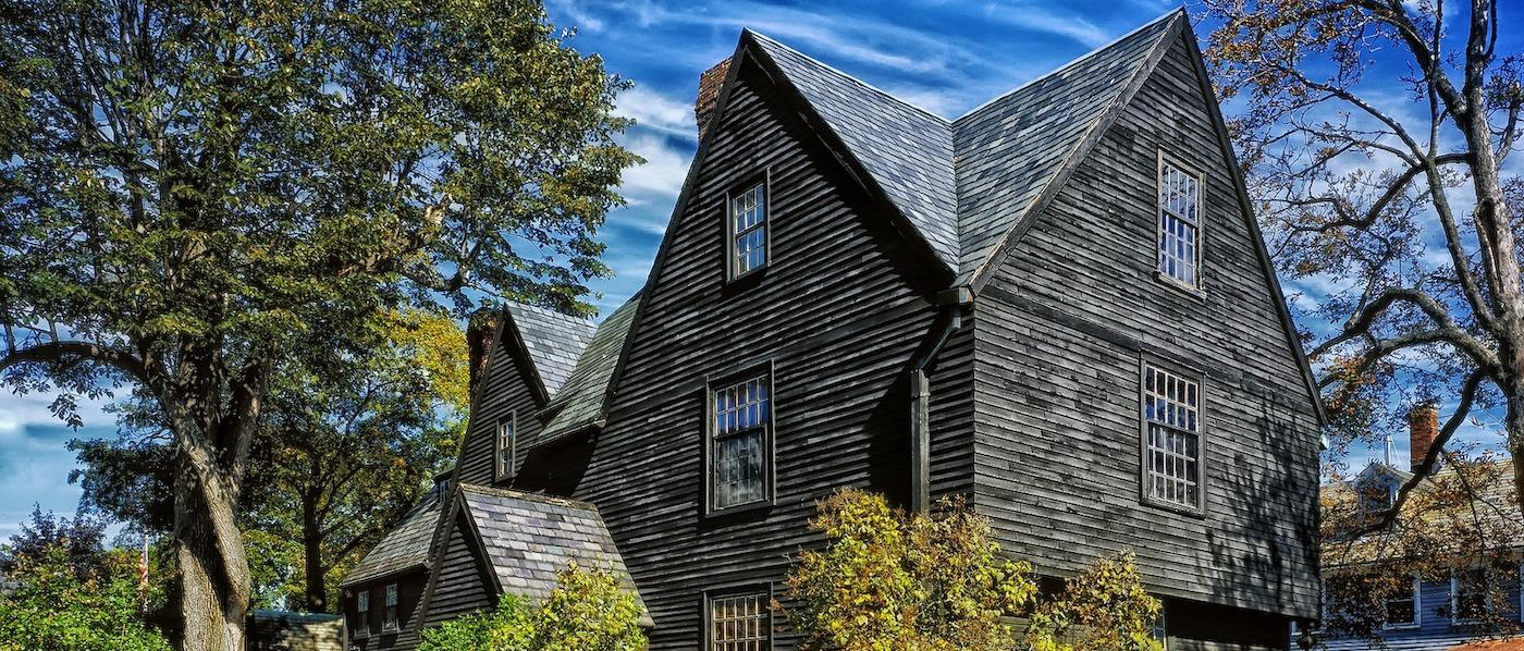 House of Seven Gables in Salem, Massachusetts