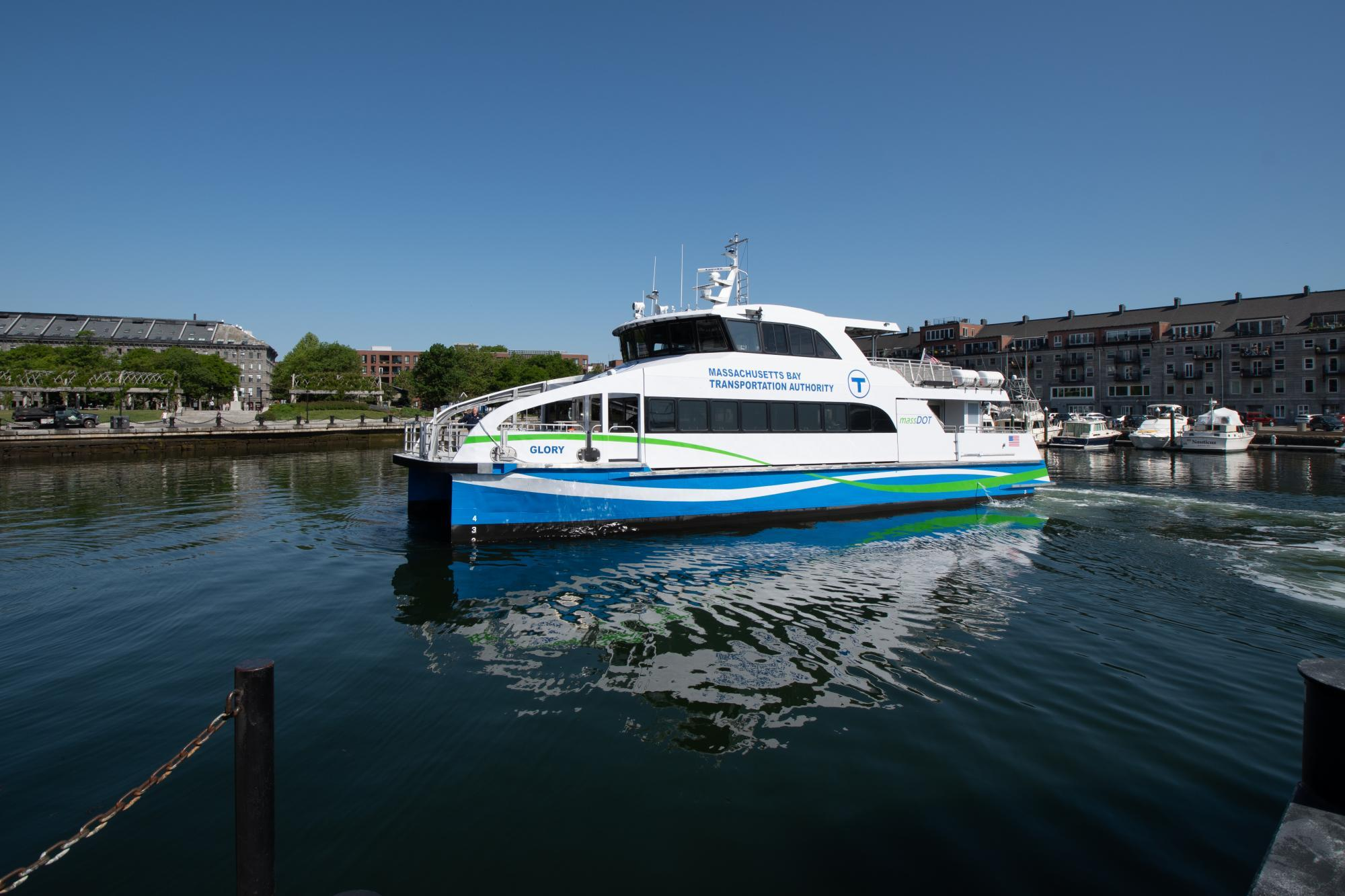 mbta ferry at long wharf