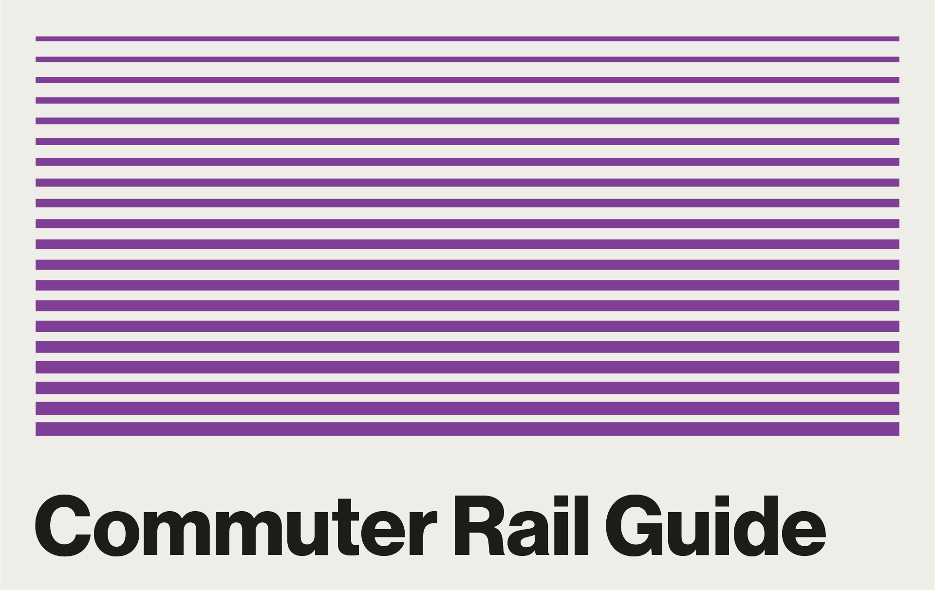 Commuter Rail Guide Clickable Graphic
