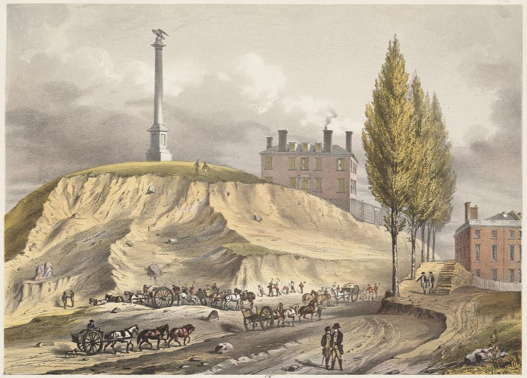 Beacon Hill, Boston, 1775