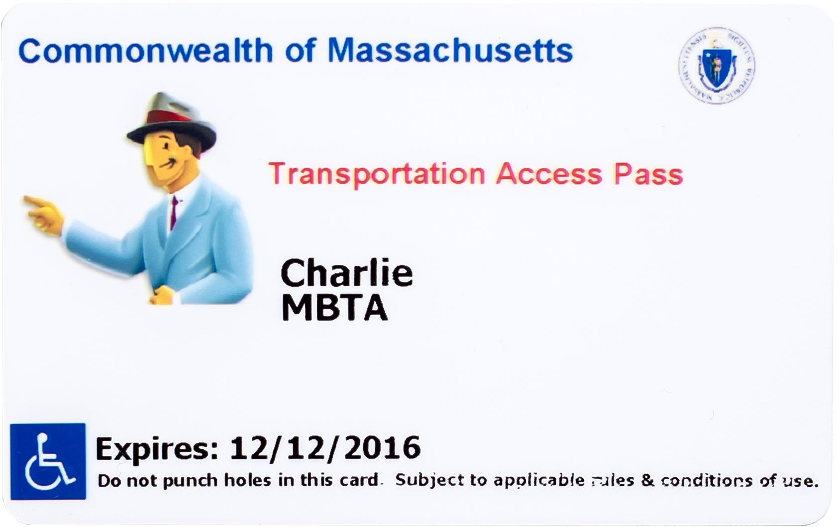 transportation access pass tap card