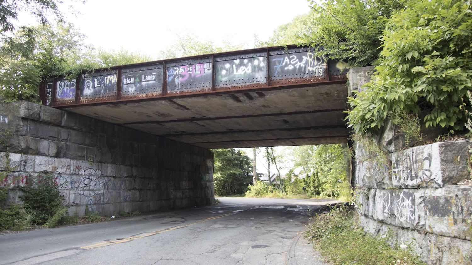 Bacon Street bridge in Wellesley is being completely replaced.