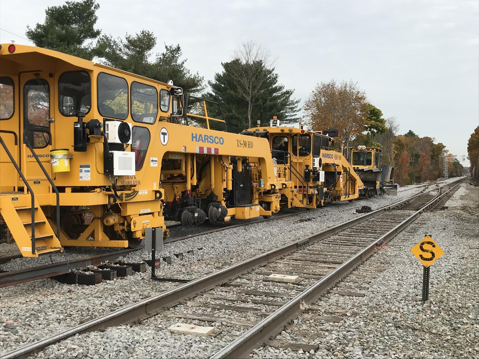 Franklin line double-track project