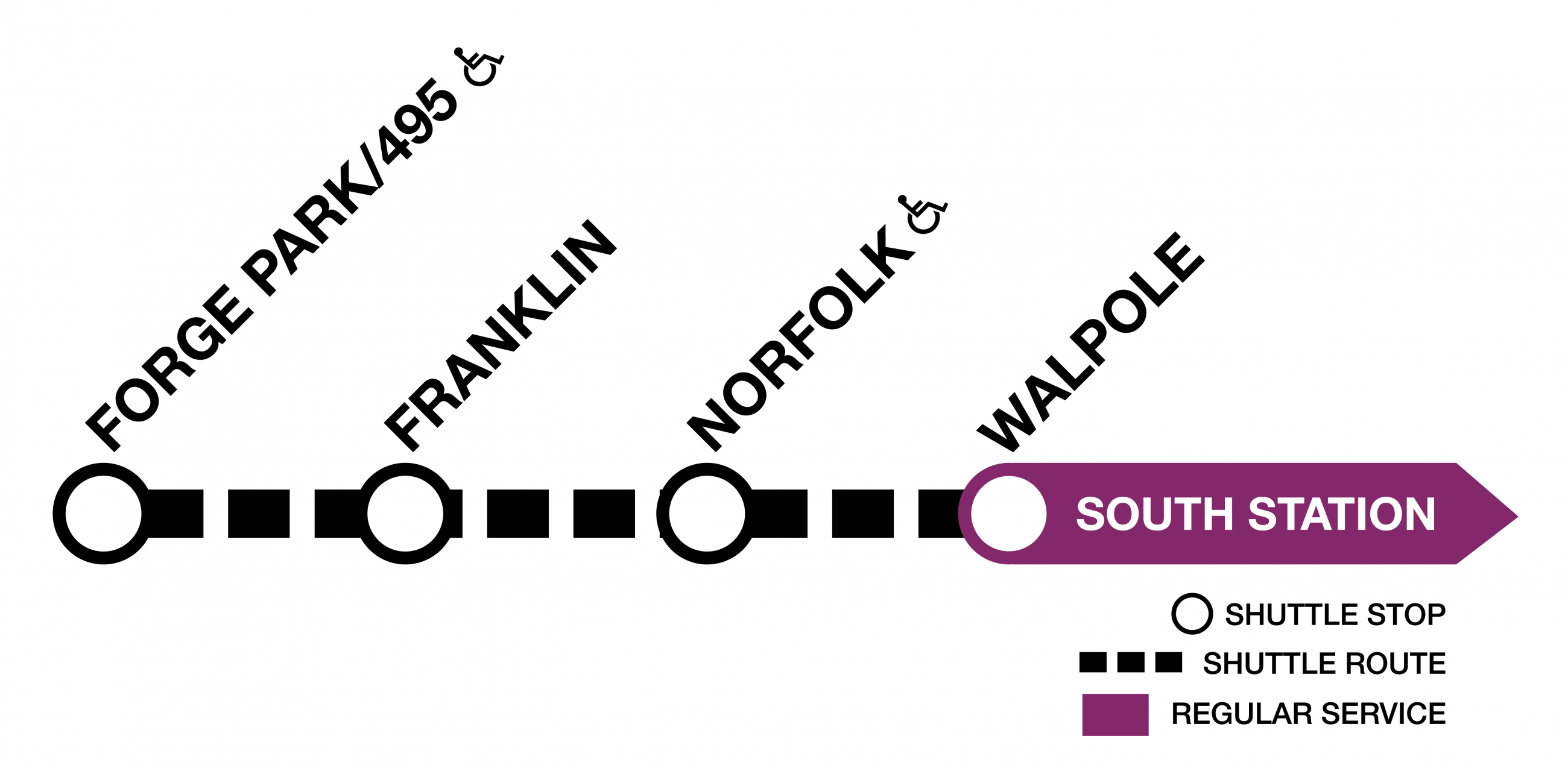 Commuter Rail: Franklin Line - maybe this is the last weekend for shuttle buses