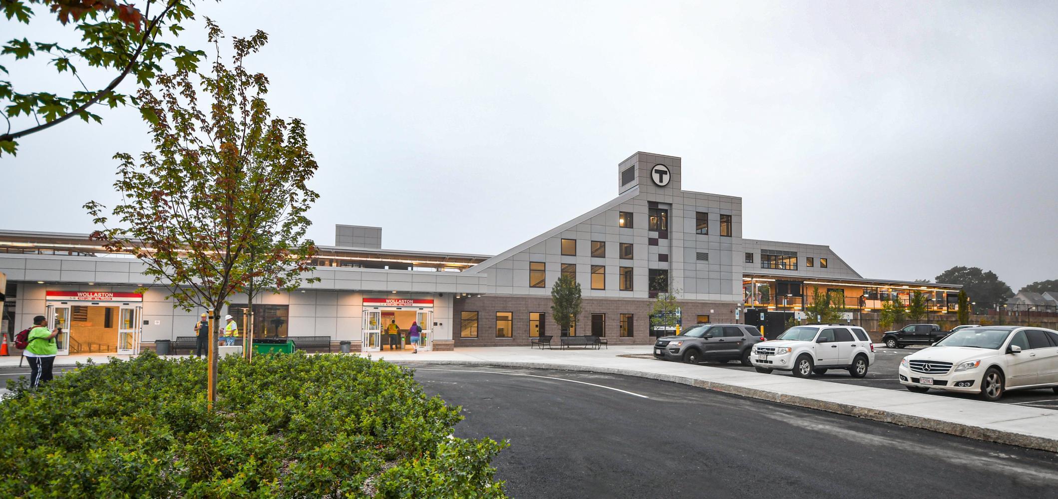 Sustainability Bonds funded Wollaston Station improvements.