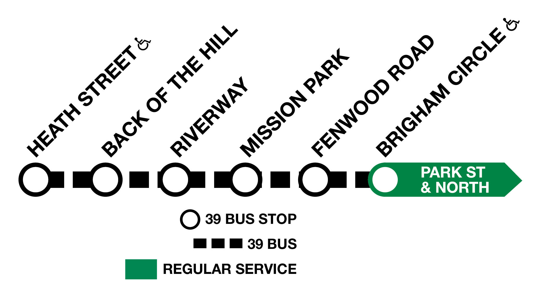 Enhanced Route 39 Service during E Branch Acceleration