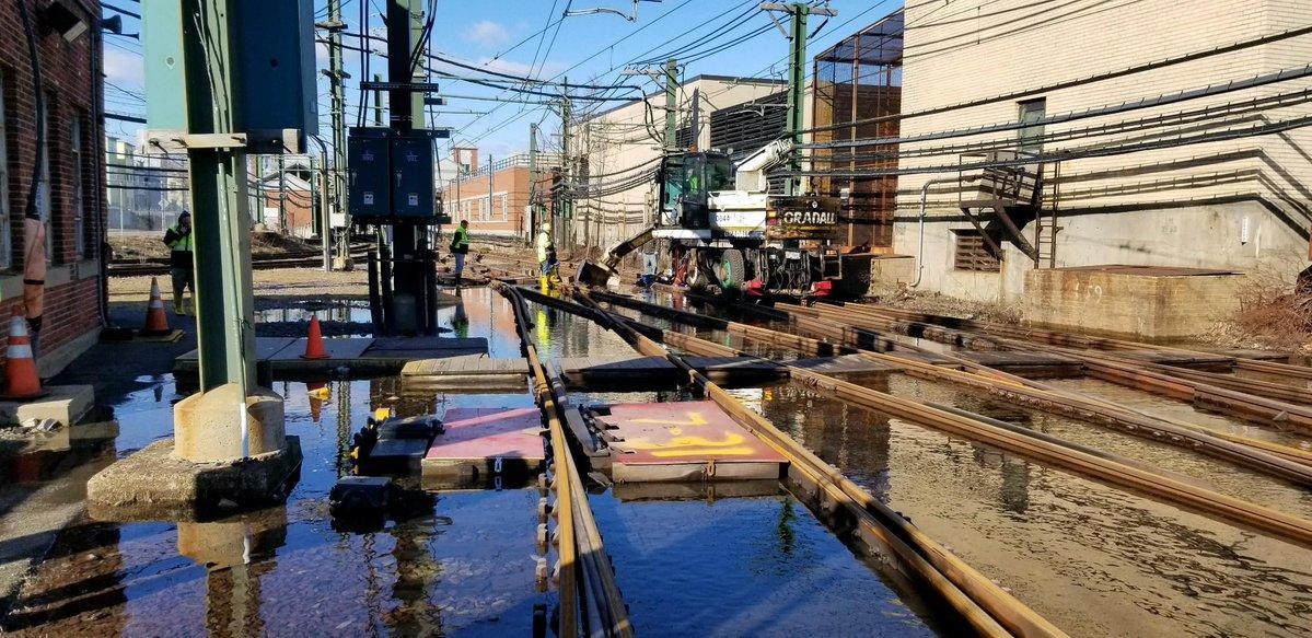 mbta plans to resume blue line service effective monday