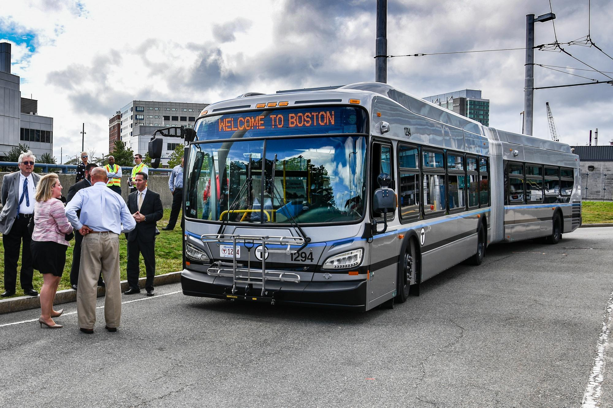 The Silver Line's new extended-range hybrid bus