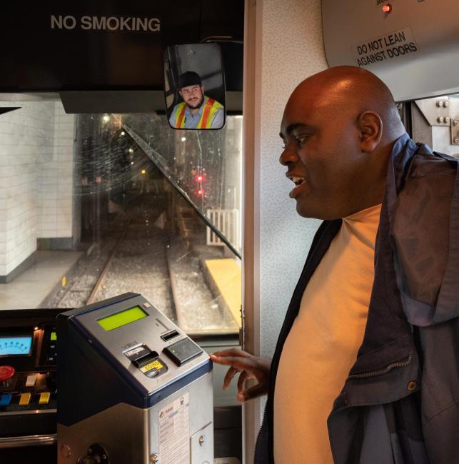 green line fare box
