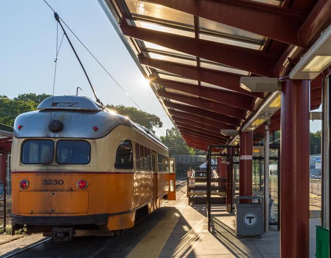 mattapan trolley mini-high platform