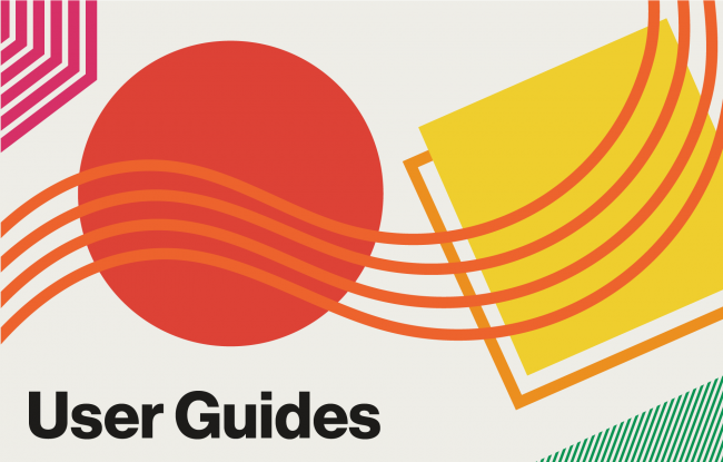 Clickable graphic for User Guides