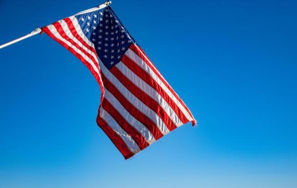 American flag. Photo byDavid Dibert from Pexels.