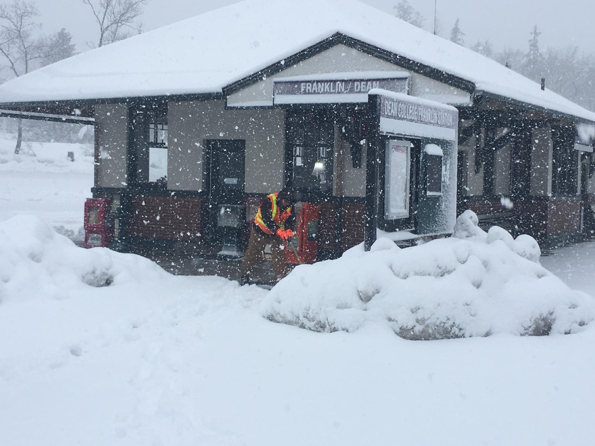 Winter Storm Photos March 13 2018 Mbta